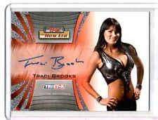TNA Traci Brooks 2010 Tristar New Era SILVER Authentic Autograph Card