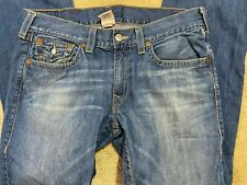 True Religion brand Jeans Straight Denim Men's Size 36 x 34