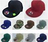 Plain FITTED Cap Blank Baseball Solid Pit Bull Hat