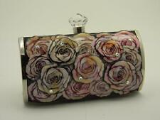 Debbie Brooks Short Clutch Lavender Handbag Swarovski