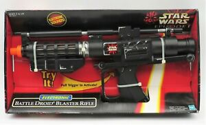 NEW Star Wars Episode 1 Electronic Battle Droid Blaster Rifle 1998