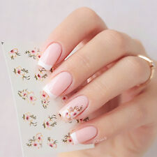 2 Sheets  Manicure Nail Art Water Decals Transfers Sticker Flower Image Design