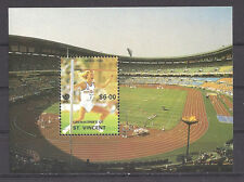 GRENADINES OF ST. VINCENT , 1988 OLYMPICS , SOUVENIR SHEET , PERF , MNH