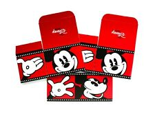 New The Disney Store 3 Empty Gift Boxes Mickey Mouse Film Strip