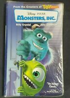 MONSTERS, INC Disney Pixar VHS New & Sealed!! In Clamshell Case! 2002 Blue Tape!