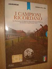 DVD I CAMPIONI RICORDANO VISITA AD AUSCHWITZ-BIRKENAU IN OCCASIONI EUROPEI 2012