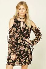 Forever 21 Contemporary Floral MIni Dress, M