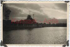 S638 Foto Marine Schlacht Schiff Tirpitz Westwerft Wilhelmshaven August 1940