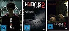3 DVDs *  INSIDIOUS CHAPTER 1 - 3 IM SET - Rose Byrne # NEU OVP <+