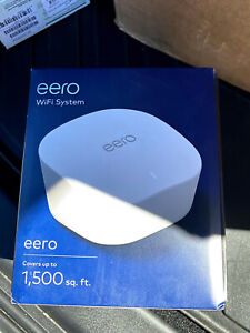 EERO J010001 J010111 SINGLE UNIT DUAL BAND WIFI SYSTEM