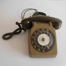 Téléphone à cadran bakélite PTT 1986 art déco design XXe PN France