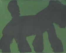 Graffiti Dog  by  Peter  Mayer New York artist  street art 1990's