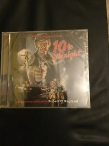 10 To Midnight,Robert O.Ragland,film Soundtrack,intrada Ltd Edition Of 1000
