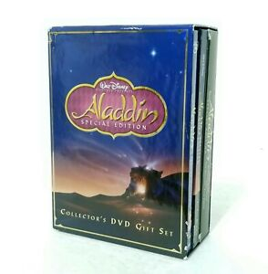 Walt Disney Aladdin Special Edition Collector's DVD Gift Box Set