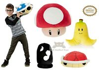 Tomy T12955A Mario Kart Deluxe XL Plush Mushroom Banana Bullet Turtle Kirby
