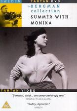 Sommer mit Monika DVD Harriet Andersson Lars Ekborg UK Version Neu Versiegelt R2