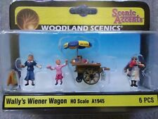 "Woodland Scenics HO Scale ""Wally's Wiener Wagon #A1945 ~ TS"
