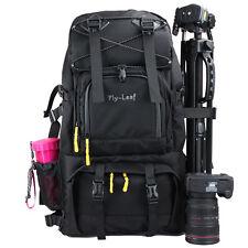 """Large DSLR SLR Camera Backpack Shoulder Bag Insert 17"""" Laptop Canon Nikon Sony"""