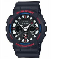 Casio G-Shock GA-120TR-1A Black Blue Tri-Colour Mens Analog Digital Sports Watch