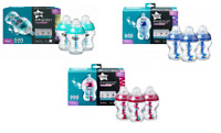 Tommee Tippee Advanced  Triple Comfort Anti-Colic Bottles 260ml Decorated