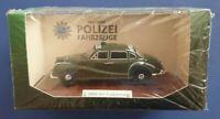 Atlas Edition 1:43 Deutsche Polizeifahrzeuge BMW 501 Funkstreife Neu+OVP