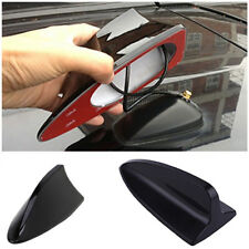 Black Car Vehicle Roof Radio FM Shark Fin Antenna Aerial Signal Kit Universal RM