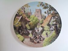 VILLAGE SCHOOL Plate By Robert Hersey Coalport China Tale of a Country Village
