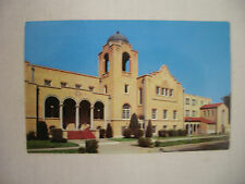 VINTAGE PHOTO POSTCARD THE FIRST CHRISTIAN CHURCH IN PONCA CITY OKLAHOMA 1960