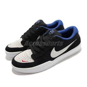 Nike SB Force 58 Black Blue White Men Skate Boarding Shoes Sneakers CZ2959-002