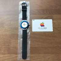 Apple Computer Rainbow Logo Wrist watch Promo Macintosh RARE Vintage
