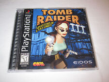 Tomb Raider III, 3 (PlayStation PS1) Black Label Game Complete Vr Nice!