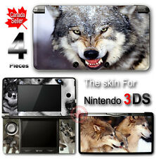 Wolf Cool Arts SKIN VINYL STICKER DECAL COVER for Nintendo 3DS