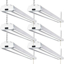 Hykolity 4FT LED Shop Light 42W Linkable Garage Workshop Hanging Fixture 6 Pack