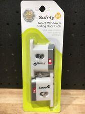 SAFETY 1ST TOP OF WINDOW & SLIDING DOOR LOCK - NEW