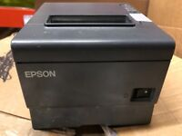 EPSON TM-T88V Thermal POS Receipt Printer IDN / USB Interface M244A + AC Adapter