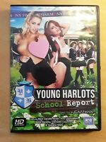 Harmony R18 Erotic DVD Young Harlots School Report Abril Gerald/Ava Courcelles