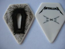 Metallica pointy coffin guitar pick -2009 death magnetic tour