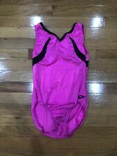 Women's GK Elite Gymnastics Leotard Pink Size AL