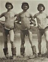 1.WK Soldaten Foto Rumänien 1917 Nude Soldat Photo Flieger Wache Rastoca (AB)