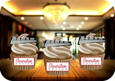 Glockenspiel 12 Edible STANDUP Cake Toppers Decoration Birthday Music Instrument