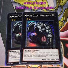 OCCASION Carte Yu Gi Oh GACHI GACHI GANTETSU YS11-FR042 x 2