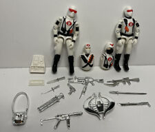 BLACK MAJOR Custom Snake Eyes FIRELFY OFFICER LOT CHROME ACCESSORIES Lot White