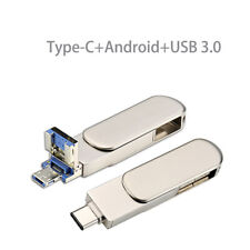 USB3.0 Type C OTG Pen Flash Drive Memory Stick U Disk For Computer Android Phone
