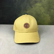 NEW Timberland Wheat Tan Baseball Hat Cap OSFM 100% Cotton