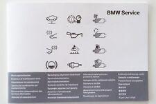 BMW Original Service Heft Serviceheft Book alle Modelle 1er,3er,5er,6er,7er,X5