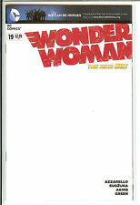 Wonder Woman #19 We Can Be Heroes Blank Variant Near Mint