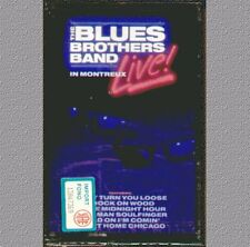 """THE BLUES BROTHERS BAND """" LIVE IN MONTREUX  """" MUSICASSETTA SIGILLATA  RARO"""
