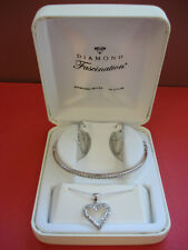 Macys Macy's Diamond Fascination Set Bracelet Pendant Earrings Brand New $360