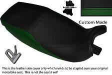 Verde Oscuro Y Negro Custom encaja Triumph Trophy 900 1200 91 a 95 DUAL cubierta de asiento
