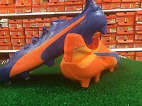 Puma EvoSpeed SL H2H FG Soccer Cleats Orange / Blue Size 10.5 New In Box